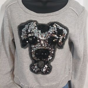 Forever 21 Tops - 3/$13/ Forever 21 puppy dog cropped sweatshirt